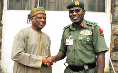 COURTESY VISIT BY CHIEF OF ARMY STAFF (COAS) TO THE BPP