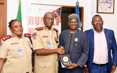 BPP team visits FRSC.HQ