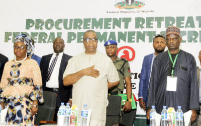 2018 Federal Permanent Secretaries' Procurement Retreat